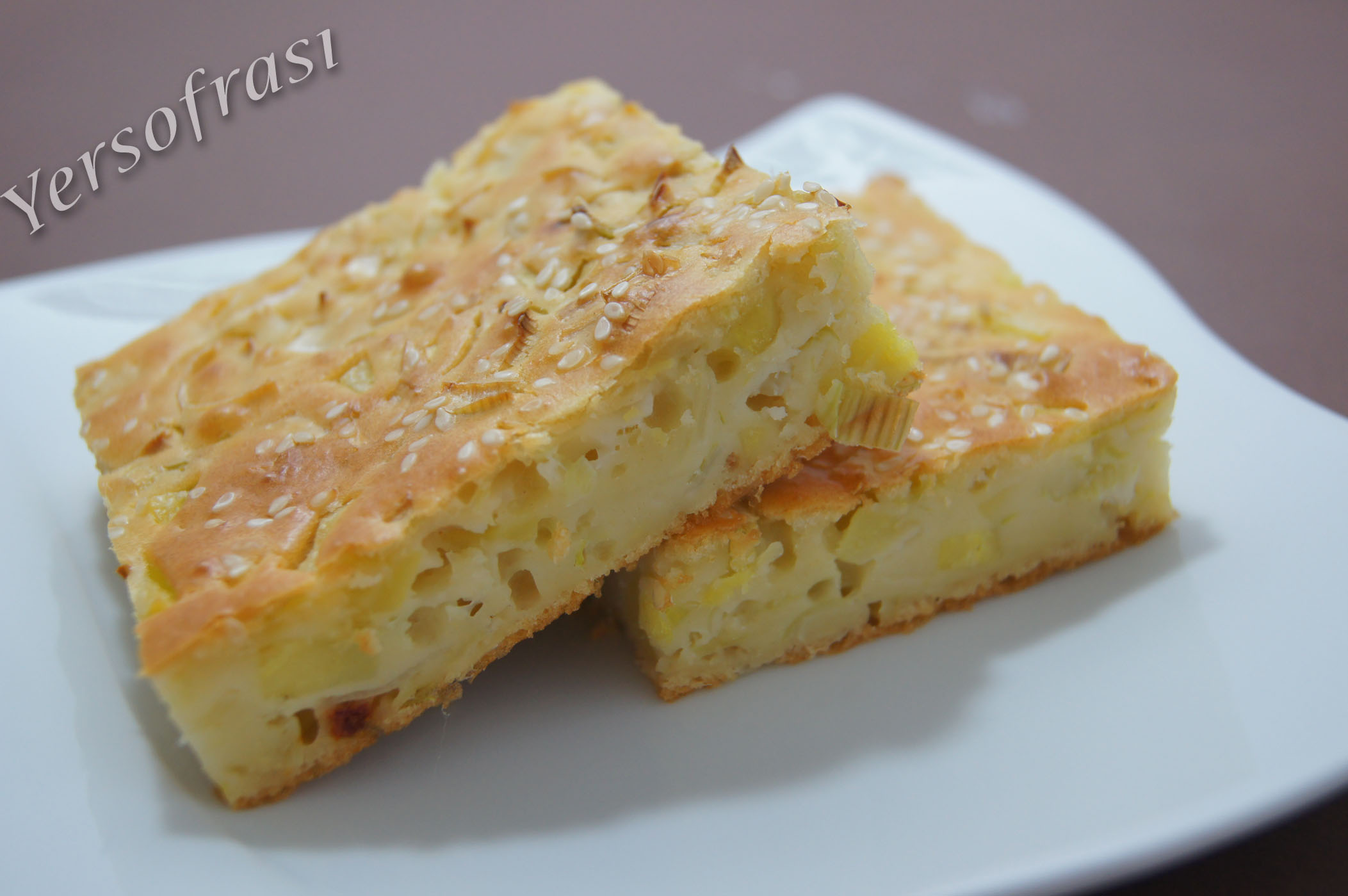 Patatesli Pırasalı Börek