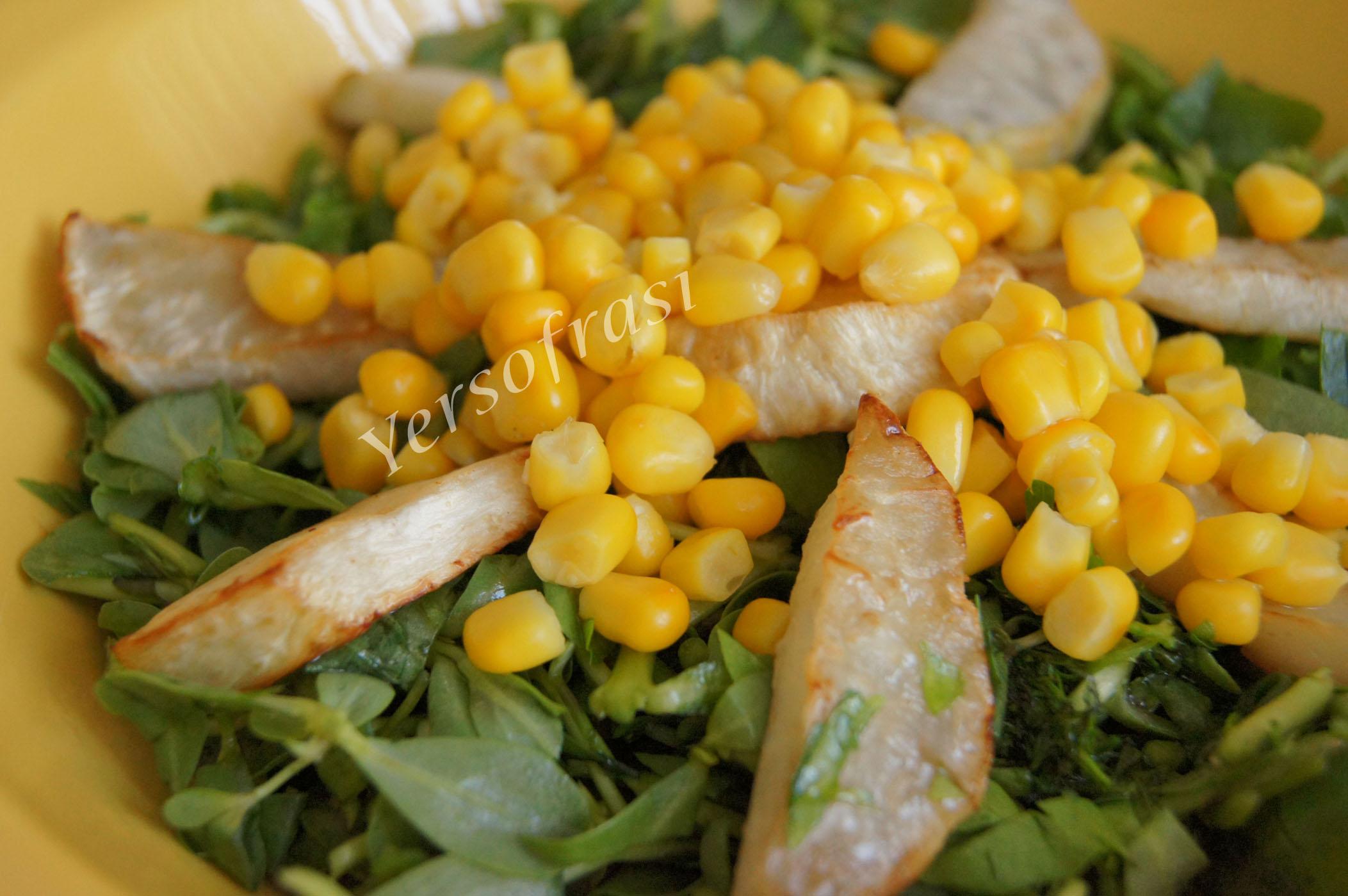 kerevizli semizotu salatasi